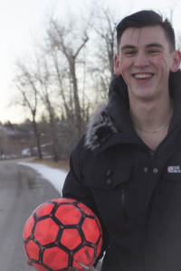 Winter Soccer Grin
