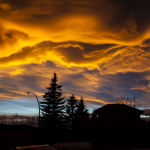 Calgary Orange Sunset